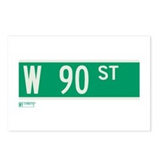 90th Street in NY Postcards (Package of 8)