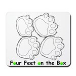Flyball Box Turn Mousepad