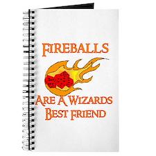Fireballs Are A Wizards Best Friend Journal