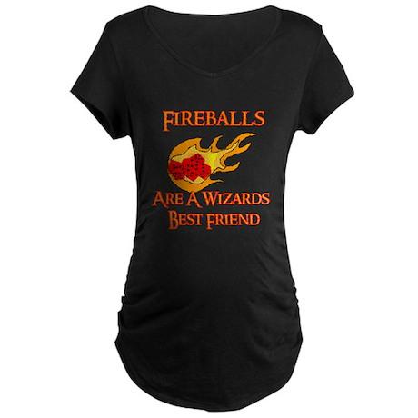 Fireballs Are A Wizards Best Friend Maternity Dark