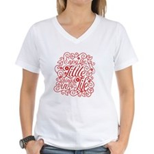 White Ink Blot maternity t-shirt