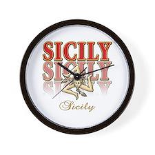 sicily Wall Clock