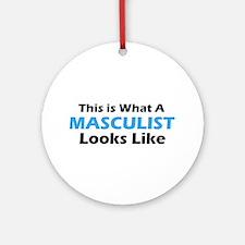 Masculist Ornament (Round)