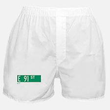 91st Street in NY Boxer Shorts