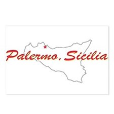 Palermo Sicilia Postcards (Package of 8)