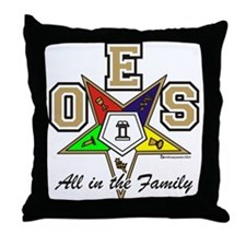 All in the Family Throw Pillow
