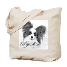 Papillon Headstudy2 Tote Bag