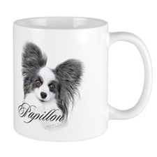 Papillon Headstudy2 Mug