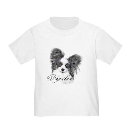 Papillon Headstudy2 Toddler T-Shirt