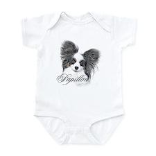 Papillon Headstudy2 Infant Bodysuit