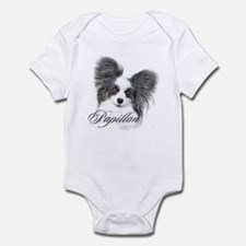 Papillon Headstudy2 Infant Bodysuit