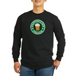 Cappuccino Police Long Sleeve Dark T-Shirt