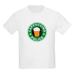 Cappuccino Police T-Shirt