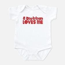 A Dietitian Loves Me Infant Bodysuit