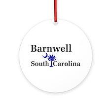 Barnwell South Carolina Ornament (Round)