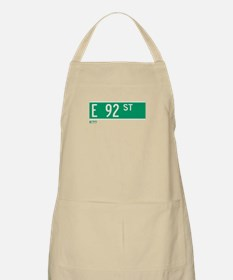 92nd Street in NY BBQ Apron