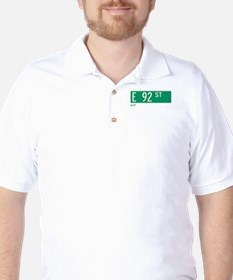 92nd Street in NY Golf Shirt