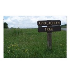 A.T. Trail Sign Postcards (Pk of 8)