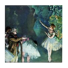 Ballet Rehearsal Tile Coaster