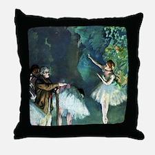 Ballet Rehearsal Throw Pillow
