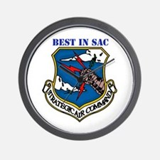 SAC - Strategic Air Command Wall Clock