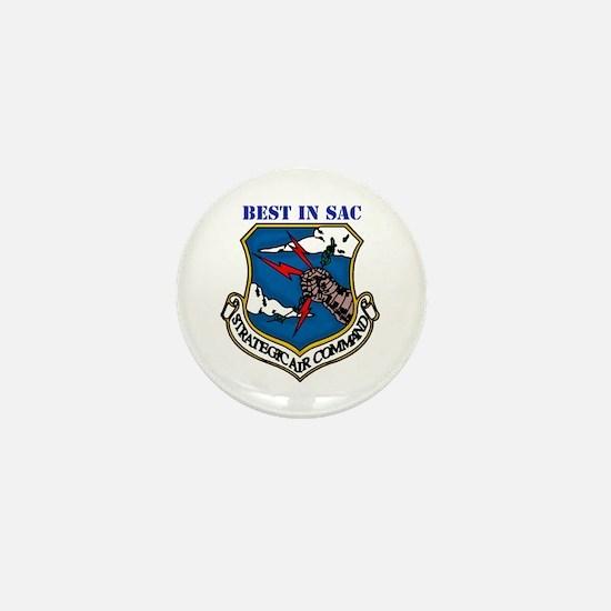 SAC - Strategic Air Command Mini Button