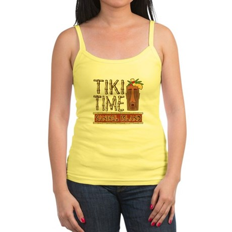 Tiki Time on Sanibel - Jr. Spaghetti Tank