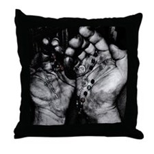 Hard Work & Prayer Throw Pillow