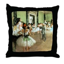 Dance Class Throw Pillow