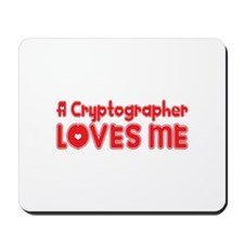 A Cryptographer Loves Me Mousepad