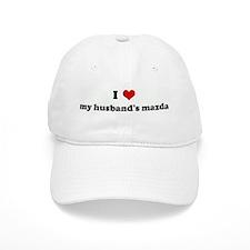 I Love my husband's mazda Baseball Cap