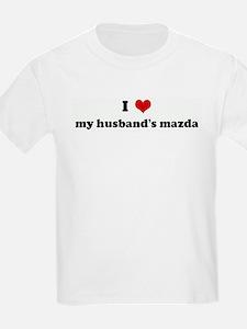 I Love my husband's mazda T-Shirt