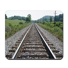At Railroad Crossing Mousepad