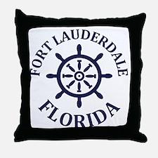 Cute South florida Throw Pillow