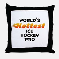 World's Hottest Ice H.. (B) Throw Pillow