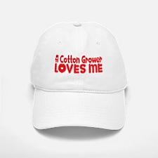 A Cotton Grower Loves Me Baseball Baseball Cap