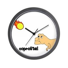 coprolite Wall Clock
