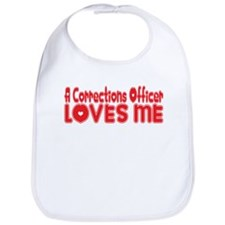 A Corrections Officer Loves Me Bib