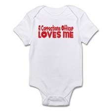 A Corrections Officer Loves Me Infant Bodysuit