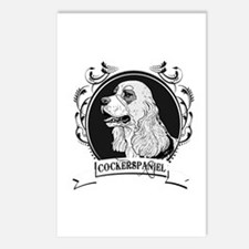 Cocker Spaniel Postcards (Package of 8)