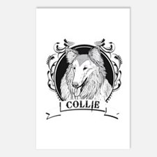 Collie Postcards (Package of 8)