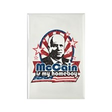McCain is my Homeboy Rectangle Magnet (100 pack)