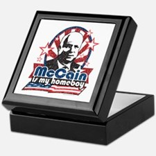 McCain is my Homeboy Keepsake Box
