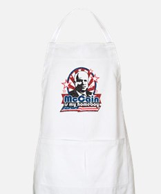 McCain is my Homeboy BBQ Apron