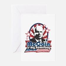 McCain is my Homeboy Greeting Cards (Pk of 10)