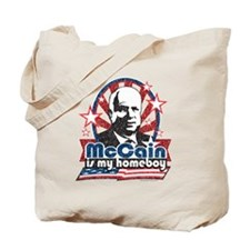 McCain is my Homeboy Tote Bag