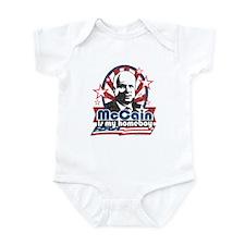 McCain is my Homeboy Infant Bodysuit