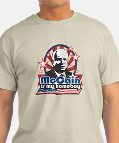 McCain is my Homeboy T-Shirt