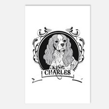 King Charles Postcards (Package of 8)