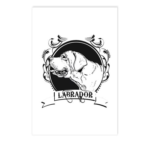 Labrador Postcards (Package of 8)